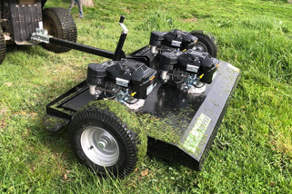 Smokey Goat topper powerful Big Buck topping mower 1500mm wide